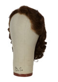 Movie/TV Memorabilia:Costumes, Elizabeth Taylor National Velvet Screen-Worn Wig....