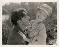 "Janet Gaynor and George O'Brien in ""Sunrise"" (Fox, 1927). Photo (8"" X 10"")"