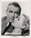 """Movie Posters:Hitchcock, James Stewart and Grace Kelly in """"Rear Window"""" (Paramount, 1954). Portrait (8"""" X 10"""").. ..."""