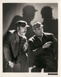 "Movie Posters:Mystery, Basil Rathbone and Nigel Bruce in ""The Hound Of The Baskervilles""(20th Century Fox, 1939). Photo (8"" X 10"").. ..."