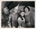 """Movie Posters:Fantasy, The Cast of The Wizard of Oz (MGM, 1939). Photo (8"""" X 10"""").. ..."""