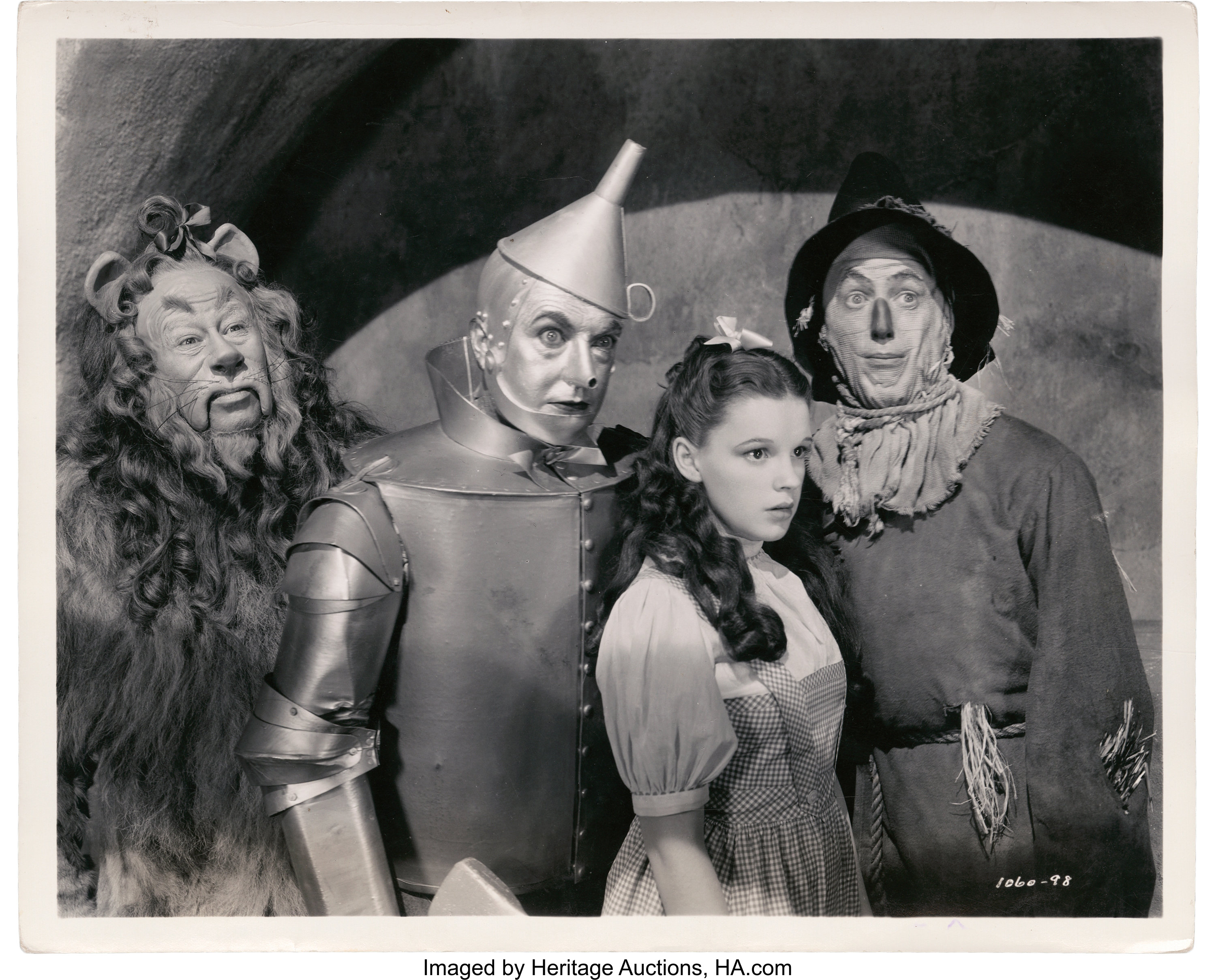 WO-10 The Wizard Of Oz Judy Garland Ray Bolger Bert Lahr Jack Haley 8x10 Photo