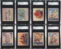"Non-Sport Cards:Sets, 1930's R135-1 United Candy ""Beautiful Ships"" Complete Set (24) - #2 on the SGC Set Registry! ..."