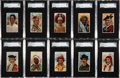 "Non-Sport Cards:Lots, 1910-11 Sub Rosa T113 ""Types of Nations"" Complete Set (50). ..."