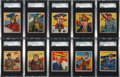 "Non-Sport Cards:Sets, 1933 R136 National Chicle ""Sky Birds"" SGC-Graded Partial Set(64/108). ..."