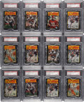 Football Cards:Singles (1970-Now), 1977 Topps Mexican Football PSA-Graded Wax Packs (25) - All WithHoFers on Top! ...