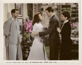 """Movie Posters:Romance, Cary Grant, Katharine Hepburn, and James Stewart in """"The Philadelphia Story"""" (MGM, 1940). Color-Glos Photo (8"""" X 10"""").. ..."""