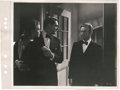 """Movie Posters:Hitchcock, Cary Grant, Ingrid Bergman, and Claude Rains in """"Notorious"""" (RKO,1946). Keybook Photo (8.25"""" X 11"""").. ..."""