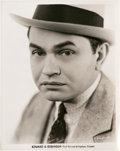 """Movie Posters:Crime, Edward G. Robinson in """"Little Caesar"""" (Warner Brothers, 1931).Portrait (8"""" X 10"""").. ..."""
