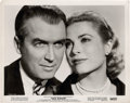 "Movie Posters:Hitchcock, James Stewart and Grace Kelly in ""Rear Window"" (Paramount, 1954).Portrait (8"" X 10"").. ..."