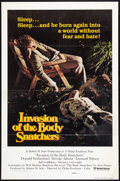 "Movie Posters:Science Fiction, Invasion of the Body Snatchers (United Artists, 1978). International One Sheet (27"" X 41"") Style B. Science Fiction.. ..."