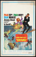 "Movie Posters:James Bond, On Her Majesty's Secret Service (United Artists, 1970). Window Card(14"" X 22""). James Bond.. ..."