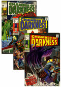 Bronze Age (1970-1979):Horror, Chamber of Darkness Group (Marvel, 1969-71) Condition: AverageFN-.... (Total: 14 Comic Books)