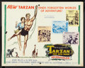 "Movie Posters:Adventure, Tarzan the Ape Man (MGM, 1959). Half Sheet (22"" X 28""). Adventure....."