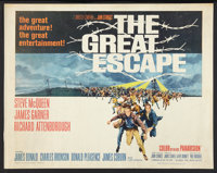 "The Great Escape (United Artists, 1963). Half Sheet (22"" X 28""). War"