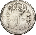 "Brazil, Brazil: Jose I Lot of Two ""J"" Series Coins,..."