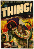 Golden Age (1938-1955):Horror, The Thing! #15 (Charlton, 1954) Condition: VG....