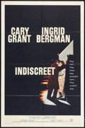 """Movie Posters:Romance, Indiscreet (Warner Brothers, 1958). One Sheet (27"""" X 41""""). Romance.. ..."""