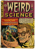 Golden Age (1938-1955):Science Fiction, Weird Science #12 (#1) (EC, 1950) Condition: GD/VG....