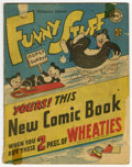 Golden Age (1938-1955):Funny Animal, Funny Stuff Wheaties Giveaway (DC, 1946) Condition: GD+....