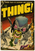 Golden Age (1938-1955):Horror, The Thing! #14 (Charlton, 1954) Condition: VG....