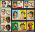 Baseball Cards:Lots, 1955-1958 Topps Baseball Collection (57) With Koufax Rookie andMantle! ...