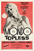 """Movie Posters:Adult, Mondo Topless (Eve Productions, 1966). One Sheet (27"""" X 41"""").. ..."""