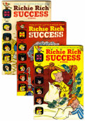 Silver Age (1956-1969):Humor, Richie Rich Success Stories File Copies Group (Harvey, 1966-82) Condition: Average VF+....