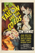 "Movie Posters:Crime, The Falcon and the Co-eds (RKO, 1943). One Sheet (27"" X 41"").. ..."