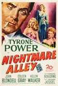 "Movie Posters:Film Noir, Nightmare Alley (20th Century Fox, 1947). One Sheet (27"" X 41"")....."