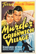 "Movie Posters:Mystery, Murder in Greenwich Village (Columbia, 1937). One Sheet (27"" X41"").. ..."
