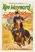 "Movie Posters:Western, The Red Raiders (First National, 1927). One Sheet (27"" X 41"") StyleA.. ..."
