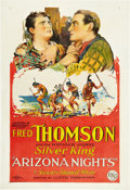 "Movie Posters:Western, Arizona Nights (FBO, 1927). One Sheet (27"" X 41"").. ..."