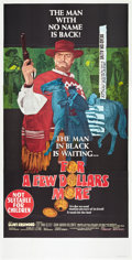"Movie Posters:Western, For a Few Dollars More (United Artists, 1967). Australian ThreeSheet (41"" X 81"").. ..."