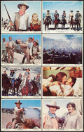 """Movie Posters:Western, The Undefeated (20th Century Fox, 1969). Lobby Card Set of 8 (11"""" X 14""""). Western.. ... (Total: 8 Items)"""