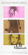 "Movie Posters:Romance, The Girl on a Motorcycle (Warner Brothers - Seven Arts, 1968).Three Sheet (41"" X 81"").. ..."