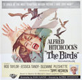 "Movie Posters:Hitchcock, The Birds (Universal, 1963). Six Sheet (81"" X 81"").. ..."