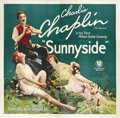 "Movie Posters:Comedy, Sunnyside (First National, 1919). Six Sheet (81"" X 81"").. ..."