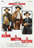 """Movie Posters:Western, The Good, the Bad and the Ugly (PEA, R-1972). Italian 4 - Folio (55"""" X 78"""").. ..."""