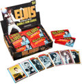 Non-Sport Cards:Unopened Packs/Display Boxes, 1978 Donruss Elvis Display Box and Wax Packs ...