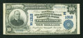 National Bank Notes:New York, Poughkeepsie, NY - $10 1902 Plain Back Fr. 624 The Farmers &Manufacturers NB Ch. # (E)1312. ...