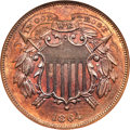 1864 2C Small Motto MS65 Red and Brown NGC....(PCGS# 3580)