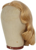 Movie/TV Memorabilia:Costumes, Lana Turner The Bad and The Beautiful Screen-Worn Wigs.... (Total: 2 Items)