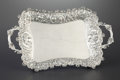 Silver Holloware, American:Trays, AN AMERICAN SILVER TRAY. Dominick & Haff, New York, New York,1889. Marks: (925 in rectangle) (circle) (1889 in diamond),...
