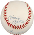 Autographs:Baseballs, Willie, Mickey and the Duke Multi Signed Baseball....