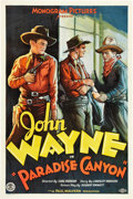 "Movie Posters:Western, Paradise Canyon (Monogram, 1935). One Sheet (27"" X 41"").. ..."