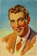 """Movie Posters:Miscellaneous, Gary Cooper Personality Poster (Paramount, Early 1930s). Poster (27"""" X 41"""").. ..."""