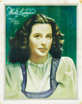 "Movie Posters:Miscellaneous, Hedy Lamarr Personality Poster (MGM, Late-1930s). British Poster(22"" X 28"").. ..."