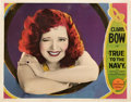 "Movie Posters:Comedy, True to the Navy (Paramount, 1930). Lobby Card (11"" X 14"").. ..."