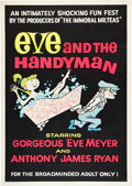 """Movie Posters:Adult, Eve and the Handyman (Pad-Ram Enterprises, 1961). One Sheet (30"""" X42.5"""").. ..."""